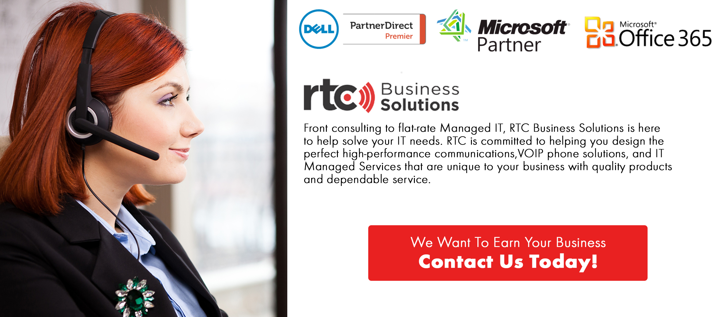 Let RTC Business Solutions Solve Your IT Needs