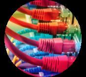 Rainbow data cables